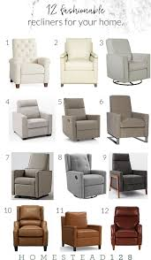 12 fashionable recliners for the home perfect recliner for