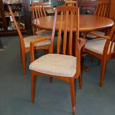 danish modern dining room chairs designer danish modern dining room chairs oliver s twist antiques
