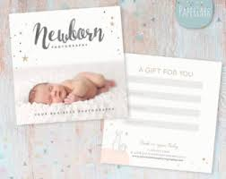 photography gift certificate photoshop template for
