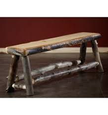 Rustic Log Benches - rustic benches log benches country benches reclaimed wood benches