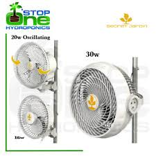 grow room oscillating fans 4 x secret jardin 6 monkey oscillating fan 20w clip on grow tent