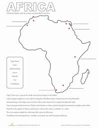 map of africa fun challenges africa and learning
