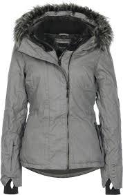 kidder iii w jacket grey