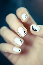 top 10 simple ways to spice up white nails top inspired