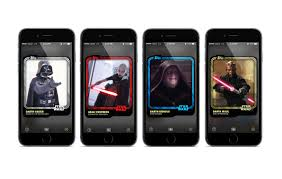 wars cards wars trading card app puts episode vii s new characters in