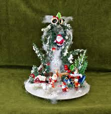 santa decor snow ornament christmas table decor christmas
