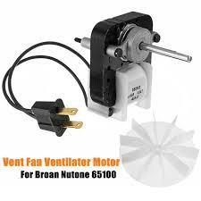 broan nutone replacement fan motor kits 12v universal bathroom vent hood fan ventilator motor 65100 for