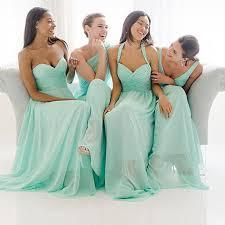 bridesmaid dresses 2015 2015 turquoise chiffon bridesmaid dresses different mix styles