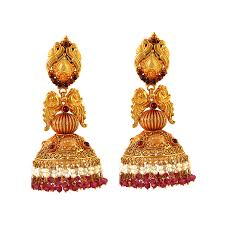 earrings in gold gold earrings collections south indian earrings designs buy gold