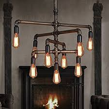 Chandeliers For Foyer Seol Light Barn Adjustable Pipe Chandeliers With 9 Light