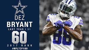 top 100 players of 2017 no 60 dez bryant