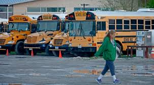 little elm buses running 2 1 2 hours behind schedule due to hail