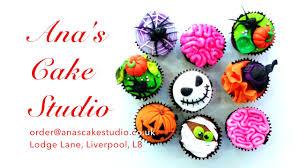 halloween cake decorations uk ana u0027s cake studio halloween cupcakes youtube