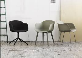 home design fiber chair muuto with swedish furniture brands also