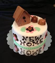 Decoration Of Cakes At Home by New Home Cake In Satin Ice Fondant Roxye U0027s Cakes Pinterest