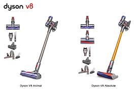 Dyson Vaccum Reviews Dyson V8 Animal And V8 Absolute Comparison U2013 Differences Explained
