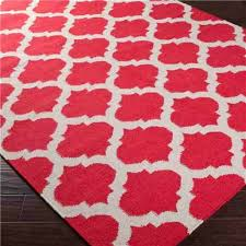 ideas for pillows to coordinate with red patterned rug