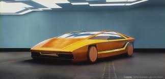 bugatti jet elysium artstation ghost in the shell vehicles maciej kuciara