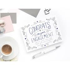 congratulations on engagement card engagement card congratulations dibs kit cronk studio