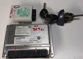 bmw e46 325 m54 engine dme ews master key tumbler swap part 1