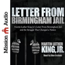 letter from birmingham jail martin luther king jr dion graham