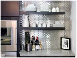 sticky backsplash for kitchen m aluminum foil self adhesive wall papers mosaic wallpaper