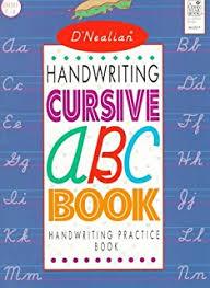 d u0027nealian handwriting abc book handwriting practice and coloring