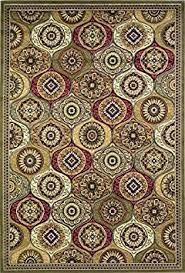 buy kas oriental rugs cambridge collection mosaic panel octagon