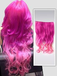 pink hair extensions one step to own your unique ombre hair color vpfashion