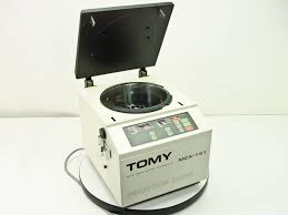 tomy mrx 151 high speed 15000 rpm benchtop micro centrifuge tma 11