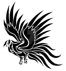 blackbird tribal tattoo design by icefirestarfire on deviantart