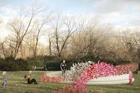 Family Garden Brooklyn A Rose Garden Made Of Pinwheels Is Coming To Brooklyn U0027s Prospect