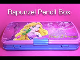 pencil box rapunzel pencil box