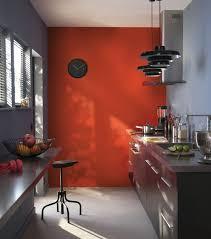 peinture orange cuisine cuisine indogate idees de peinture cuisine moderne couleur peinture