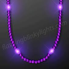 light necklace images Light up purple led bead necklace flashingblinkylights gif