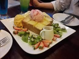 arte cuisine honey toast ฮ นน โทสต กรอบนอกน มในเคล ากล นเนยโปะด วยไอศคร ม