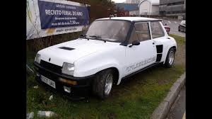 renault hatchback from the 1980s renault 5 turbo