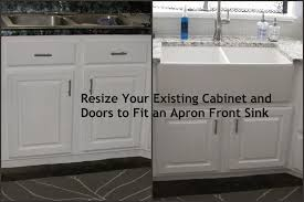Black Farmers Sink by My So Called Diy Blog Resize Your Existing Cabinet And Doors To