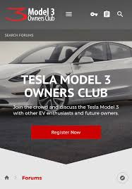 model 3 owners club on twitter