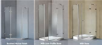 38 neo angle shower enclosure
