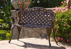 Bench Outdoor Furniture Patio Furniture Costco