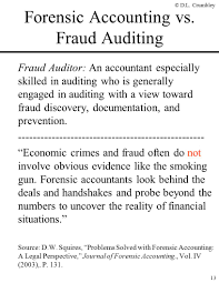 Forensic Accountant Resume The Fraud Side Of Forensic Accounting D Larry Crumbley Cpa Cr