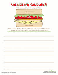 how to write a paragraph grammar worksheets paragraph and