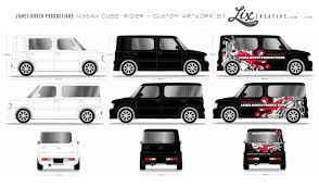 2015 nissan cube lix creative ygz11 nissan cube cubic rider by autech custom