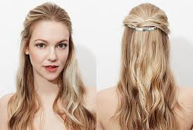 how to wear hair behind the ears 5 beautiful ways to wear jewelry in your hair allure