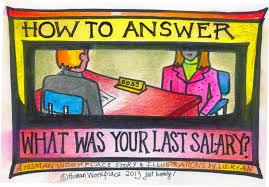 how to answer the question u0027what was your last salary u0027