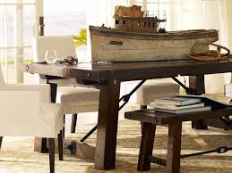 furniture add character to room with rustic tables breakfast