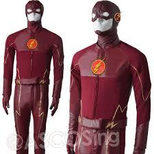 Flash Gordon Halloween Costume Flash Barry Allen Cosplay Costumes Red Battlefram