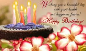 A Happy Birthday Wish Happy Birthday Wishes And Images Birthday Messages And Quotes