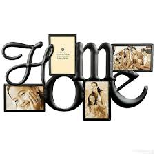 burnes photo albums h o m e wall words in copper wire 4 opening collage by burnes